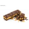 Pinda chocoladereep met karamelsmaak