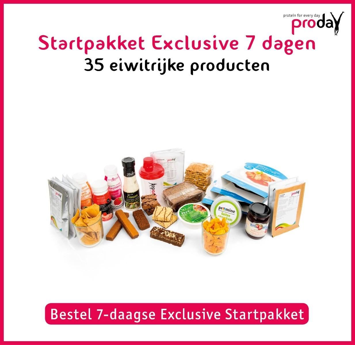 Banner met cta exclusive pakket