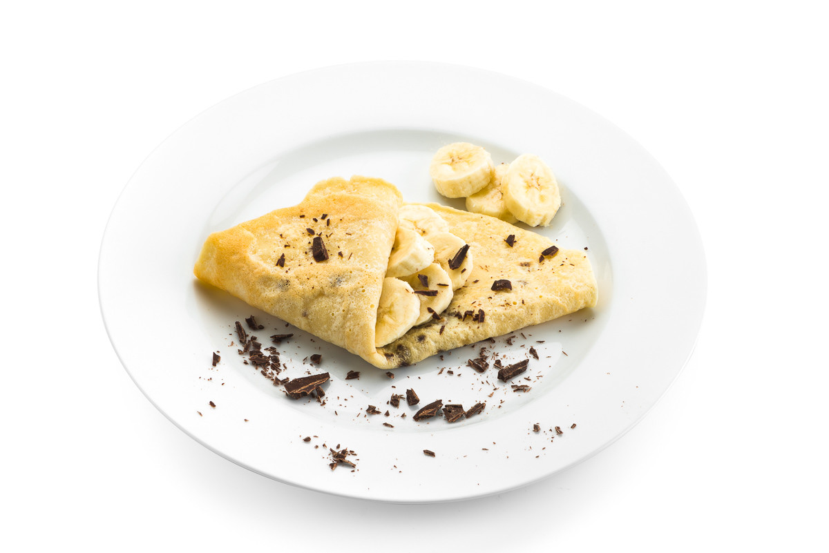 crepe choco banaan