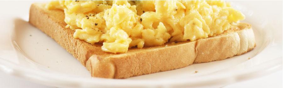 Toast met eiersalade proday proteinedieet