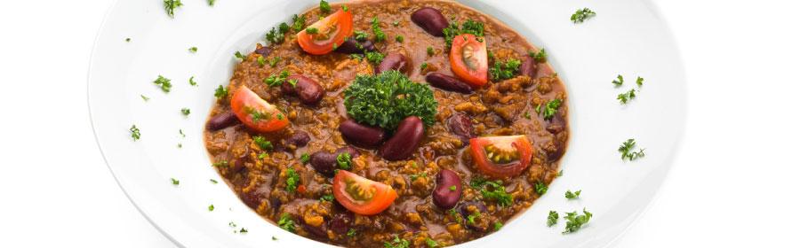Pittige chili sin carne proteinedieet Proday
