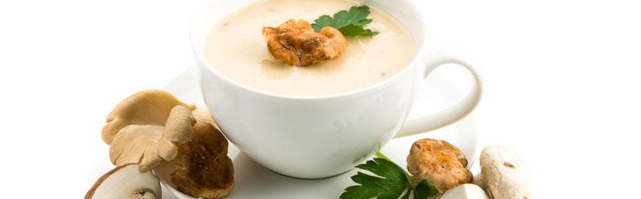 Gevulde champignonsoep proteïnedieet Proday