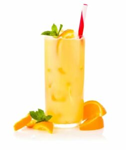 proteine-sinaasappel-drank