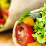 Tortilla met groenten